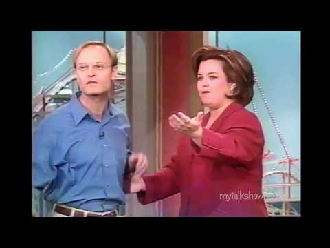 DAVID HYDE PIERCE HAS FUN WITH ROSIE