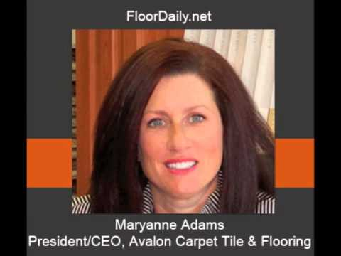 FloorDaily.net: Maryanne Adams Discusses Avalon's Business From the Floorscapes Meeting