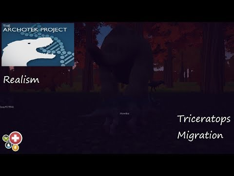 The ArchoTek Project Realism: Triceratops Migration (Young)