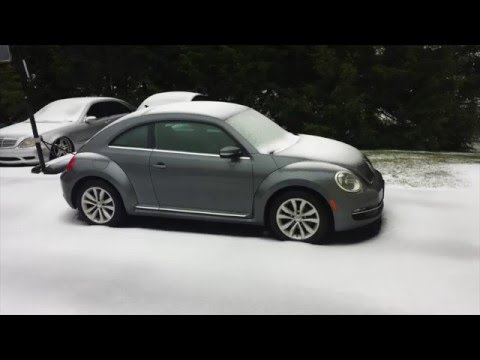 Volkswagen Winter Weather Car Care Tips