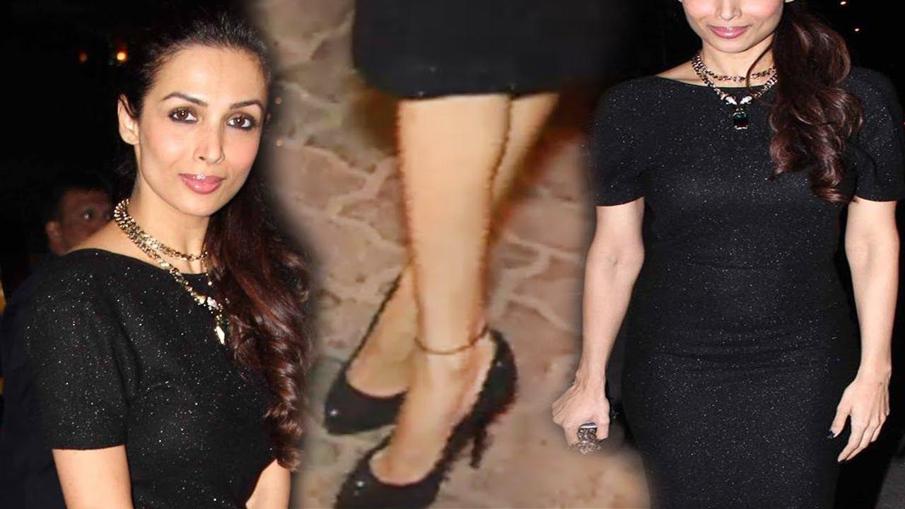 Malaika Arora Khan In Black Gown looks Stunning at an ...