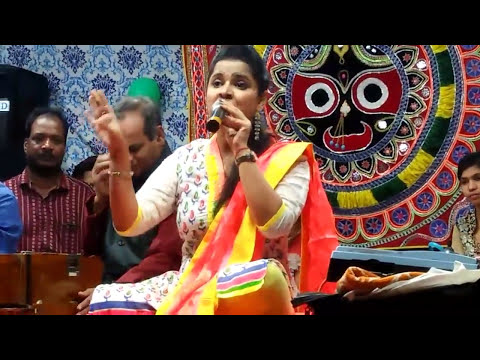 Mix all bhajan song by Asima panda on stage in Maniabandha