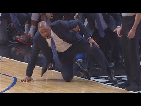 Doc Rivers Falls! Gallinari, Luka 32 Points! 2018-19 NBA Season
