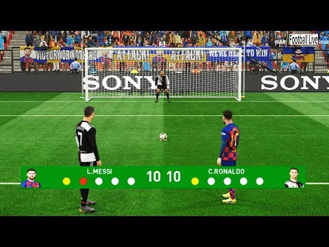 PES 2019 | Penalty Shootout | Team Messi vs Team Ronaldo
