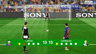 PES 2019 | Penalty Shootout | Team Messi vs Team Ronaldo screenshot 2