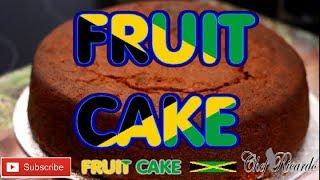 This is my authentic Jamaica style fruit cake /JAMAICA BLACK  RUM FRUIT CAKE CHRISTMAS !!