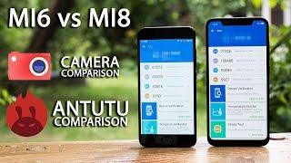 Xiaomi Mi8 - PERFORMANCE and CAMERA comparison with Xiaomi MI6