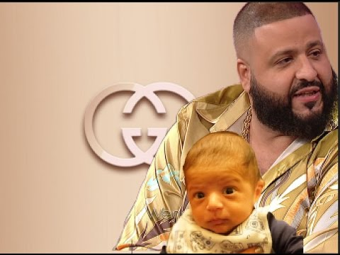 "DJ Khaled Takes His Newborn Son To Gucci Store""Tells Him Get Whatever You Want'"