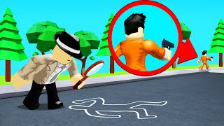 FINDING The ROBLOX MYSTERY MURDERER! (Detective)