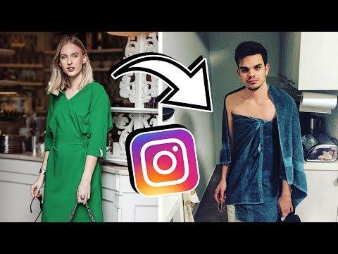A barátom lemásolta az Instagramomat egy hétig