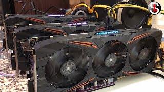 Как собрать майнинг ферму на 4 GPU - GTX 1080