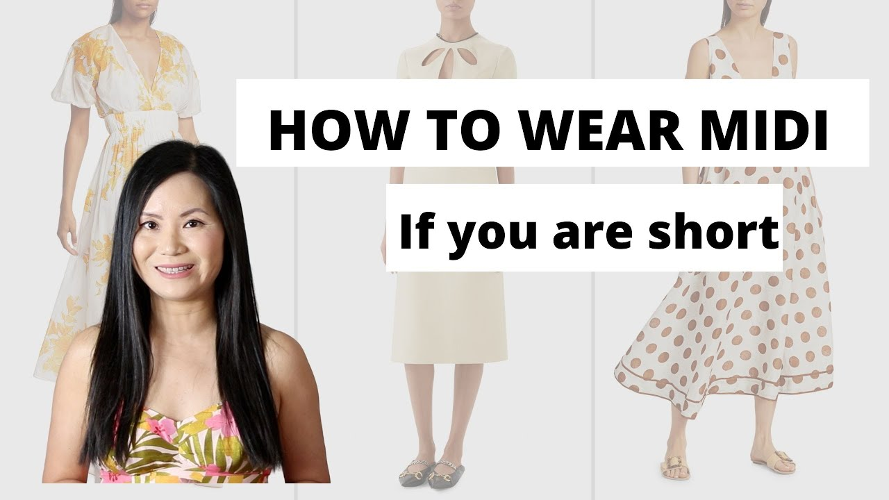 """Best Dresses for Short Women If You are Under 77"""""""