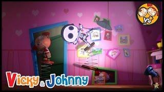 Vicky & Johnny | Episode 6 | INSOMNIA | Full Episode for Kids | 2 MIN
