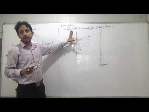 IIT JEE Physics 30 Wave Optics 14 Diffraction || by Abhishek Kumar Physics