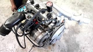 Démarrage moteur alpine