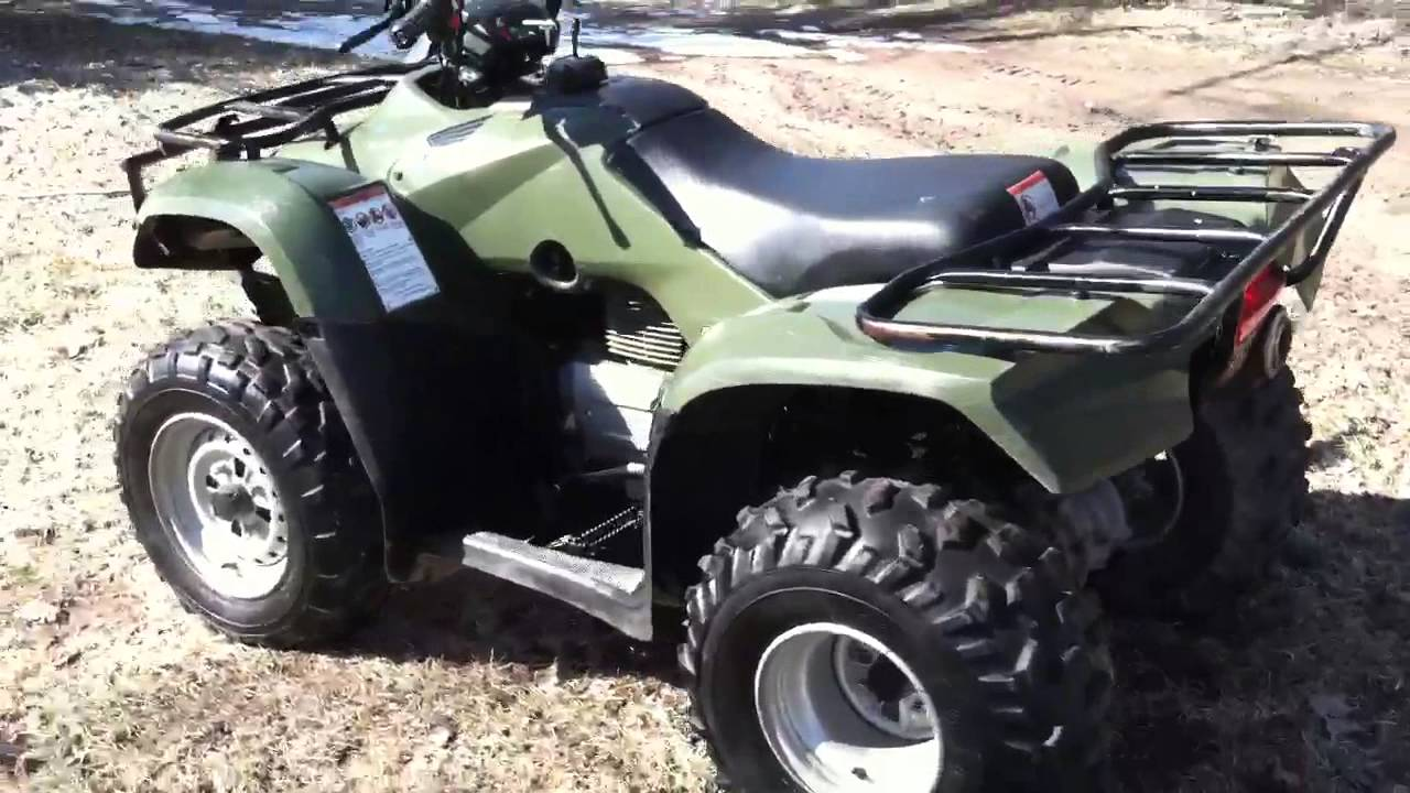 Honda Recon 250 >> 2006 Honda Recon 250 Tm trx 250 C and C Sports - YouTube
