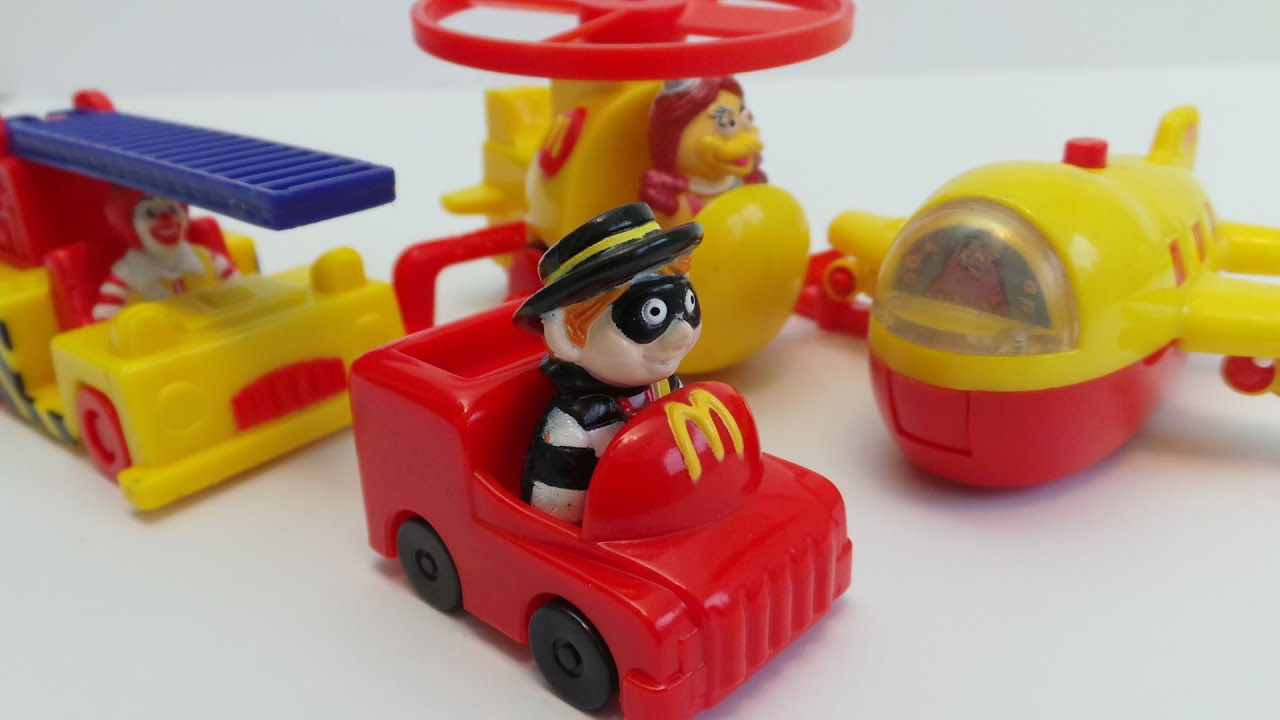 MCDONALDS KIDS HAPPY MEAL VINTAGE 1995 TOYS INC AIRPLANE