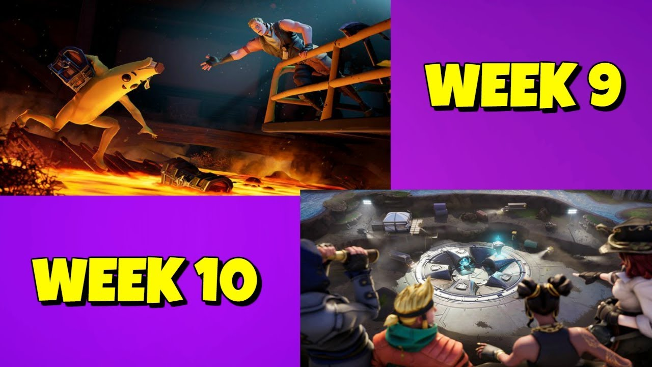 Season 8 Week 9 10 Loading Screen In Fortnite Youtube
