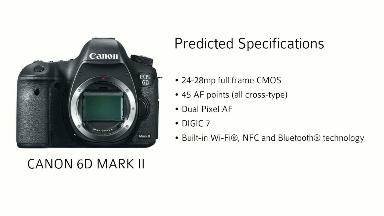 Canon 6D Mark II - YouTube