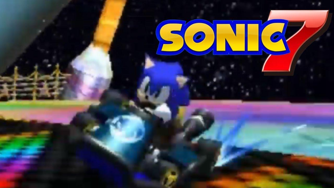 Sonic [Mario Kart 7] [Skin Mods]