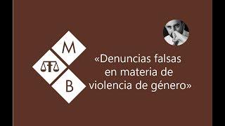 Baixar DENUNCIAS FALSAS EN MATERIA DE VIOLENCIA DE GÉNERO