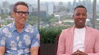 Ryan Reynolds on Barrier Collapse at Brazil Comic Con | Full Interview