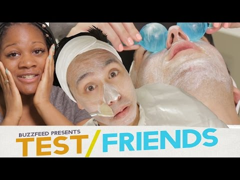 Thumbnail: People Get Facials For The First Time • The Test Friends