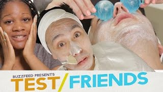 People Get Facials For The First Time • The Test Friends
