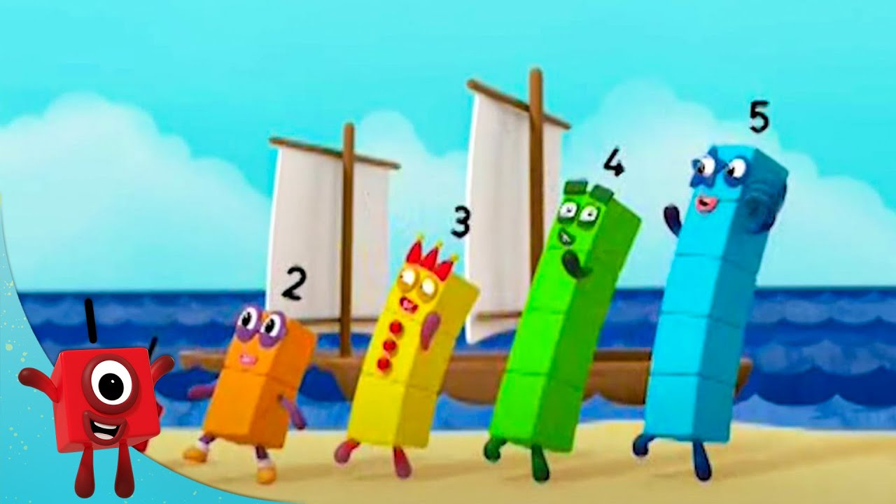 Numberblocks - Summer Games | Learn to Count | Learning Blocks