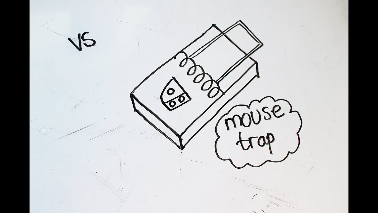 2 Kids Tutorial How To Draw A Mouse Trap In 1 Minutes