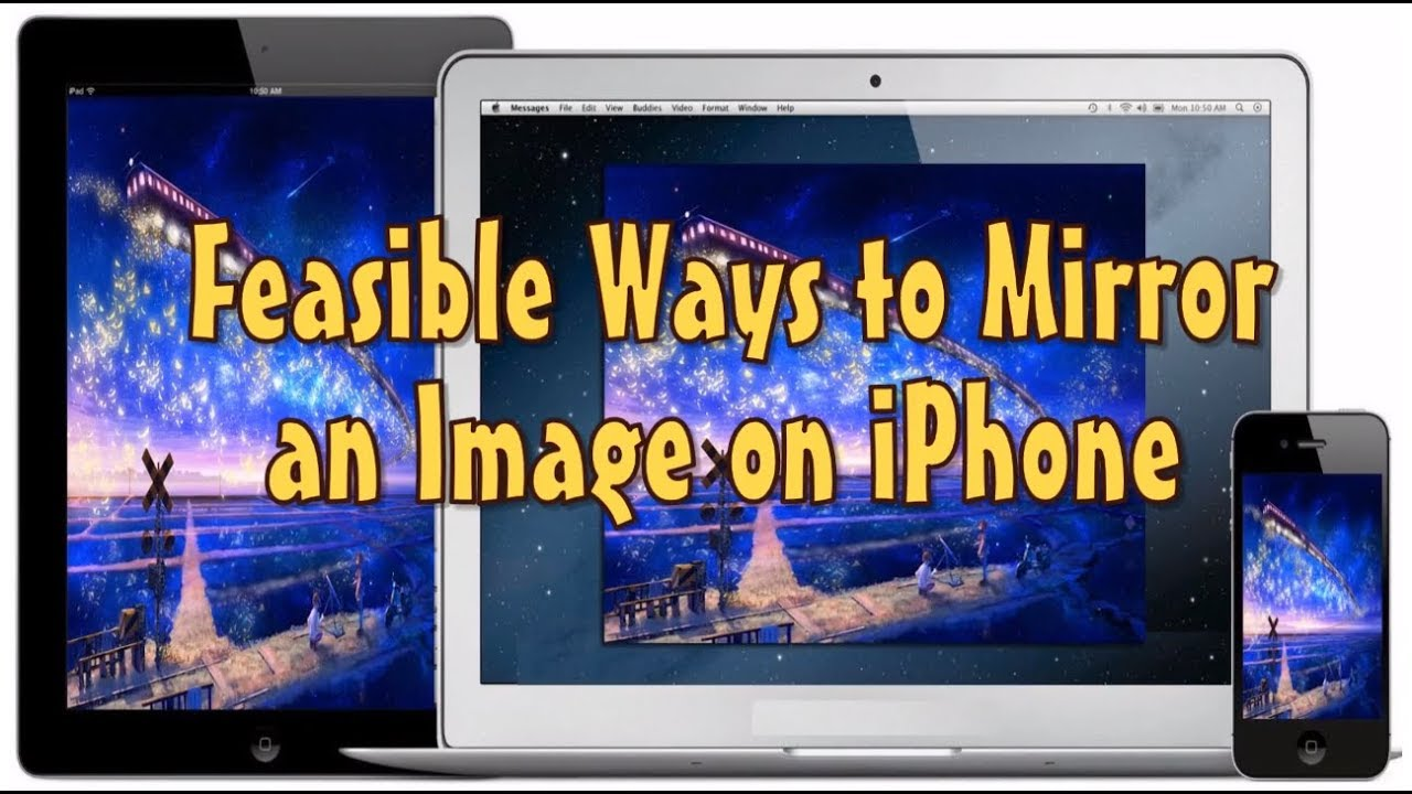 How to Mirror an Image on iPhone