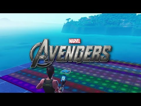 I made the AVENGERS Theme using Fortnite Music Blocks in 10