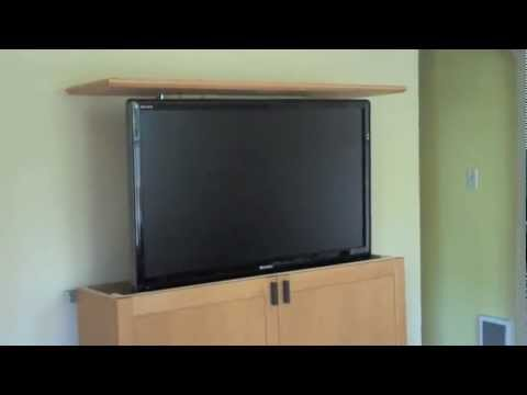 Motorized Remote TV Lift 2