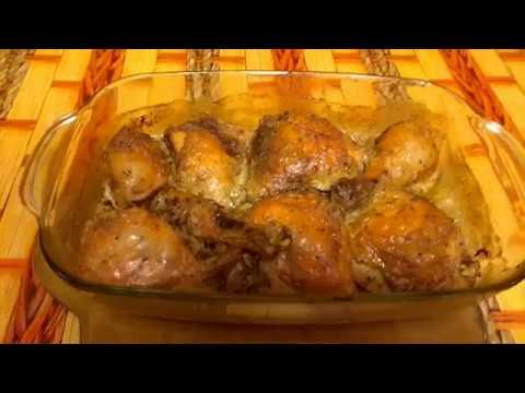Вкусные куриные окорочка в духовке приготовить легко и просто