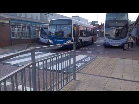 Sheffield bus station 1/6/16