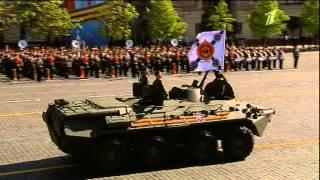 Парад Победы 9 мая 2014 Красная Площадь Первый канал