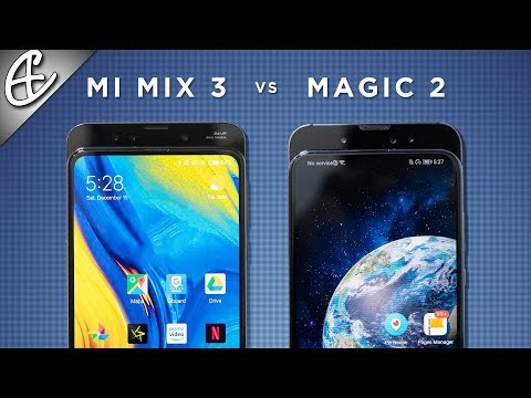 Who did it BEST? Mi Mix 3 vs Honor Magic 2 Slider Phone Comparison!