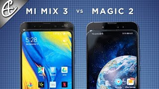 Who did it BEST? Mi Mix 3 vs Honor Magic 2 Slider Phone Comparison!