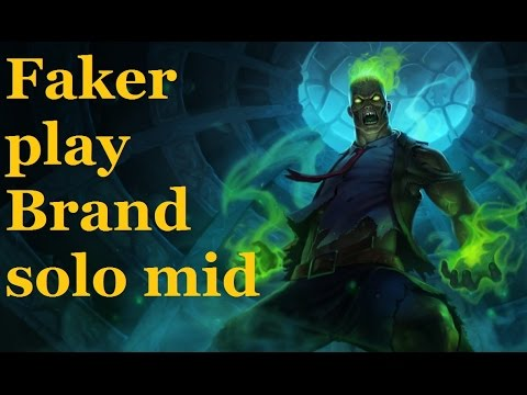 Brand mid | Learn to play Brand of Faker | Best Brand Plays | Pro Lol.