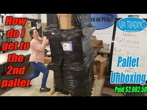 Pallet Unboxing - How do I get to the 2nd Pallet?