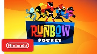 Runbow Pocket - New Nintendo 3DS - Launch Trailer