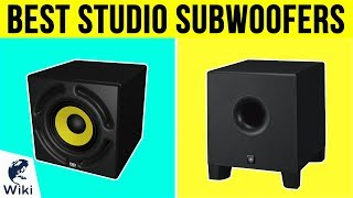 10 Best Studio Subwoofers 2019