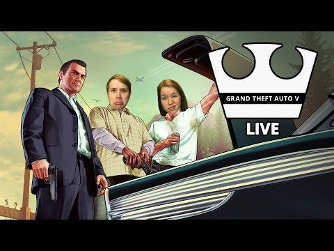 Jirka a Ségra Hraje - GTA V - Blbosti [PC] [LIVE]