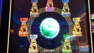 ★NEW Slot ! SUPER BIG WIN☆JIN HUANGDI LONG & JIN SHI (VGT/Aristocrat) Slot Live Play☆彡栗スロ