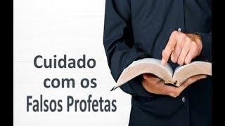 IGREJA UNIDADE DE CRISTO / Cuidado com os Falsos Profetas - Pr. Rogério Sacadura