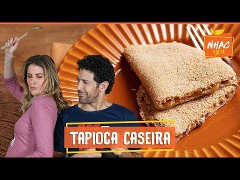 Rodrigo ensina Rita como fazer tapioca de café com doce de leite  Rita Lobo  Cozinha Prática