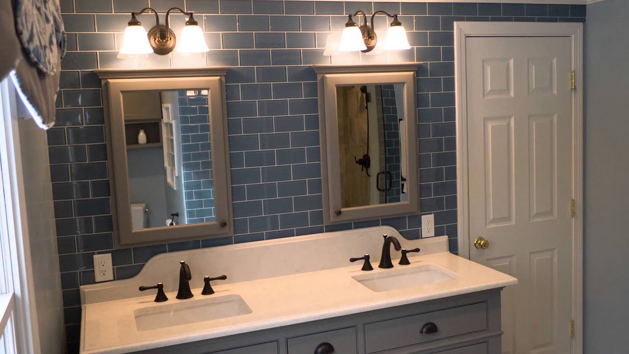How to use a bathroom - How To Use Glass Tile In A Bathroom For A Timeless Look