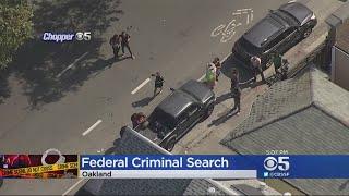 ICE Investigators Serve Human Trafficking Warrant At Oakland Home