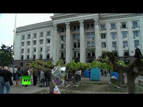 Odessa mourns dozens dead in clashes   fire