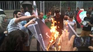 Burn ISIS Flag Challenge Goes Viral In the Arab World!